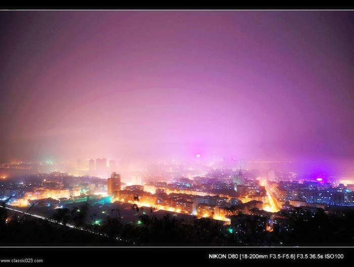 重庆夜景  -新重庆图片秀图片