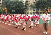 艺术阳光 活力四射 华新实验小学2018年阳光体育文化节开幕
