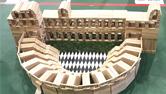 雅典卫城、泰姬陵、帕特农神庙……兴发娱乐网页版登录学生用积木搭建世界著名建筑
