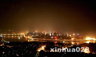 重庆夜景-新华网重庆频道图片