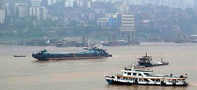 陶灵 重庆川江轮渡的变迁图片