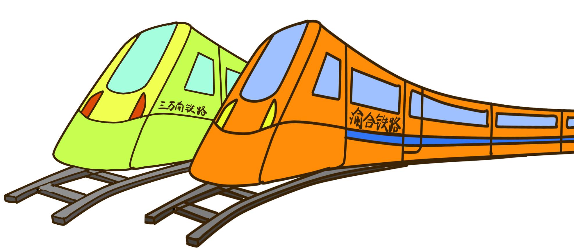 黔张常也是重庆到厦门铁路线的其中一段,在重庆境内23公里(不说了哈).