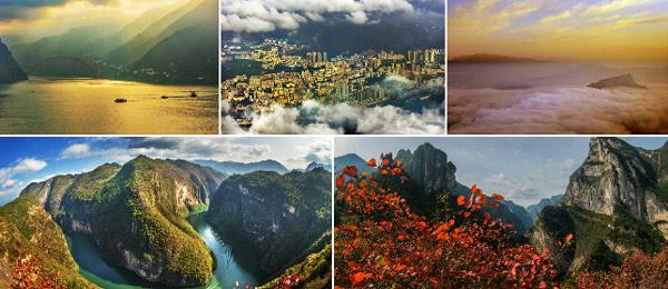 【高清美图】多个角度看三峡 巫山盛景美如画