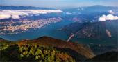 航拍长江三峡:峡中奇峡