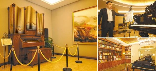 """重庆""""琴痴""""花费一亿多收藏300余架古钢琴"""