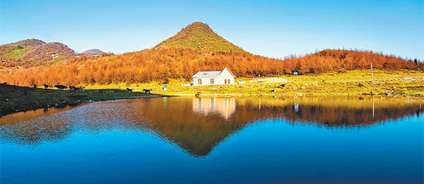 深秋的重庆南天湖