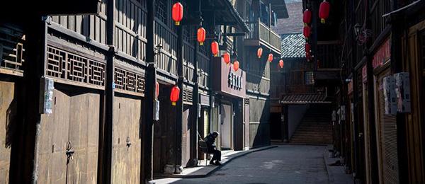 三峡古镇:百年老街隐于市