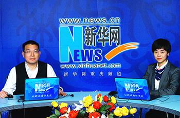重慶興農融資擔保集團有限公司董事長劉壯濤做客新華網