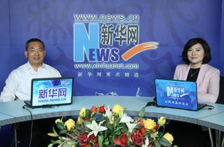 重慶市涪陵區委書記李洪義做客新華網