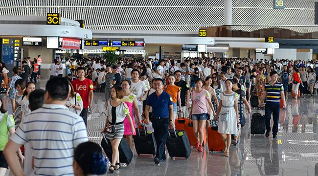 VR探訪重慶江北國際機場T3航站樓