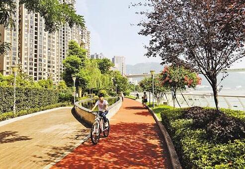 涪陵:公園在城中 城在公園中