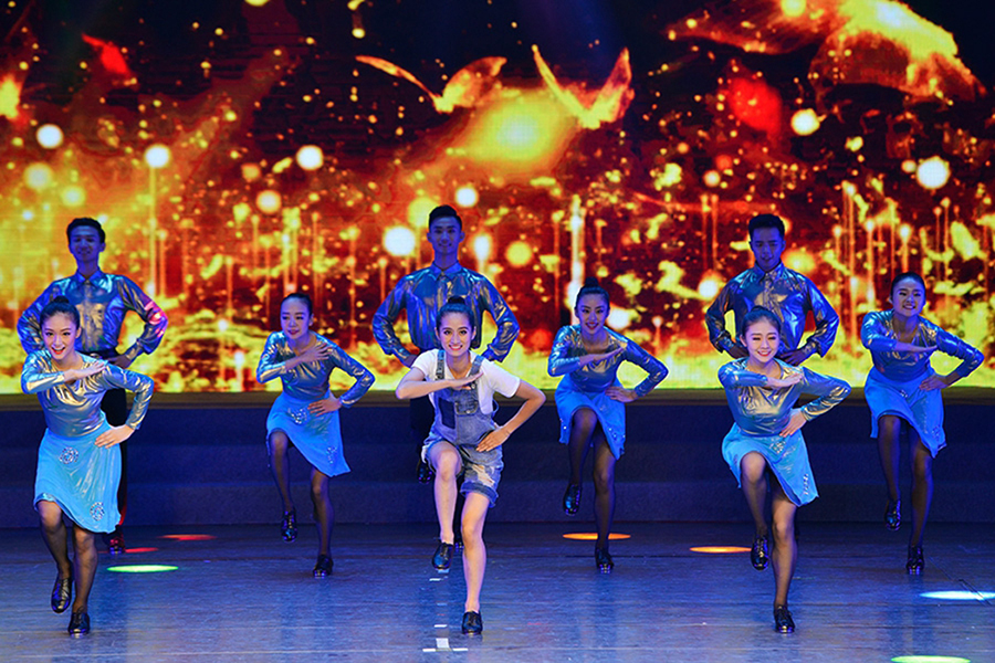 第九屆全國殘疾人藝術匯演(西部片區)舞蹈類比賽舉行