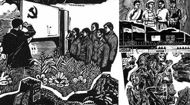 用藝術的方式展現時代的旋律 看川美版畫家如何宣講十九大精神