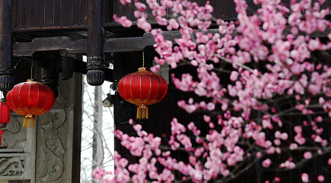 重慶黔江:古鎮燈籠喜迎春