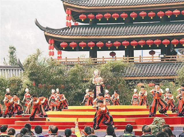 重慶文理學院學生登上央視戲曲春晚