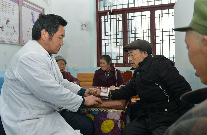 萬勝壩村醫療條件日益改善