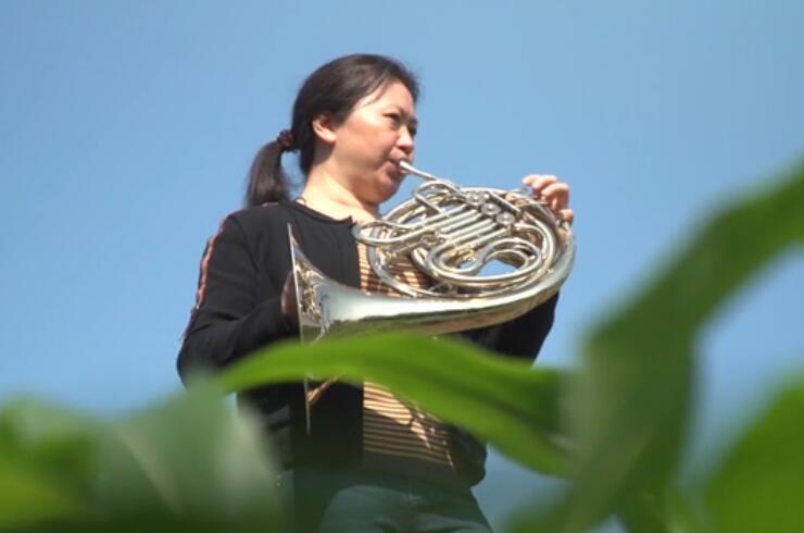 北鬥村農民交響樂手獨奏