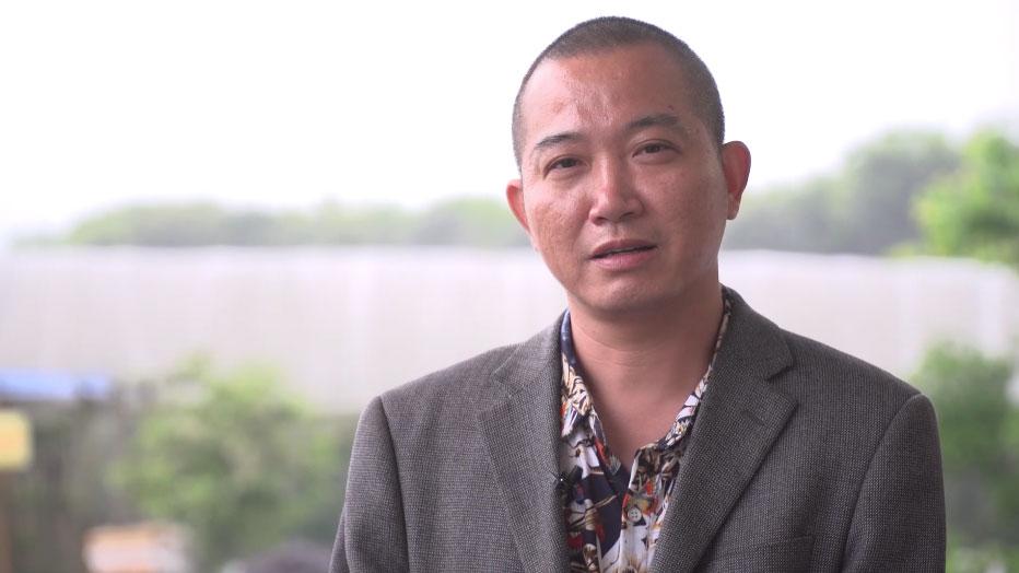農家樂老板汪中紅談發展變化