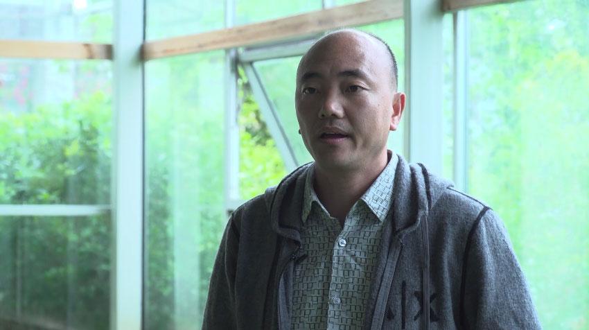 林果園老板張傳軒介紹現代生態觀光農業園特色