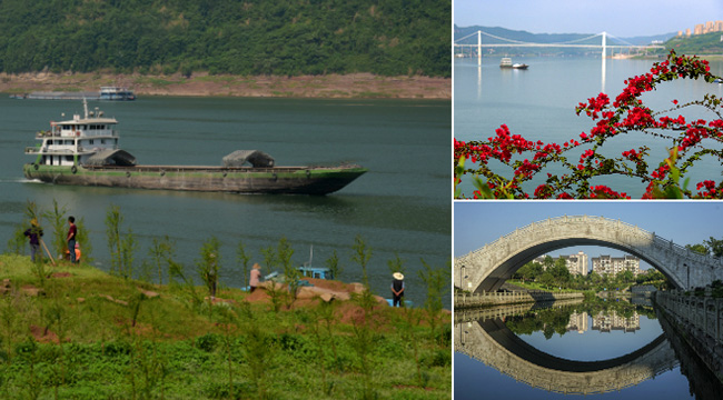 【美丽中国长江行】山更青水更绿 重庆持续生态治理见成效