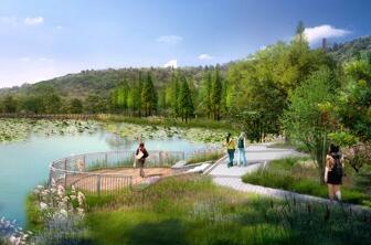 照母山森林公园提档升级进入收尾阶段 7月将新装亮相