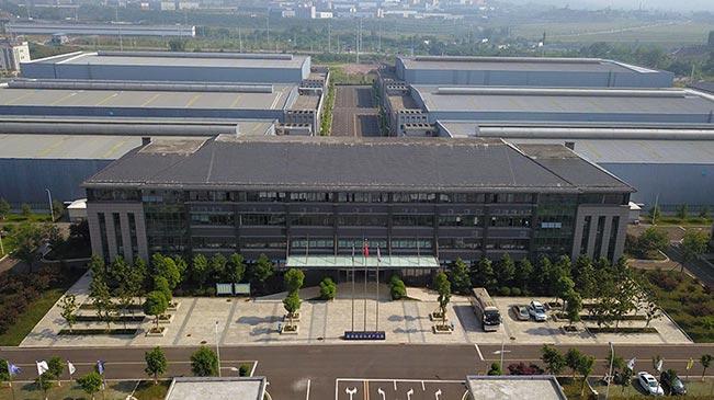 航拍永川数控机床产业园 体验智能制造