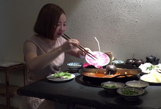 火鍋與深夜食堂是非常貼切的