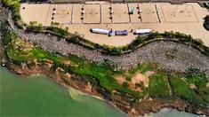 全国沙滩排球巡回赛(云阳站)开赛
