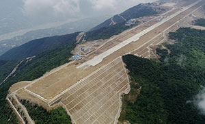 巫山机场航站楼月底有望封顶
