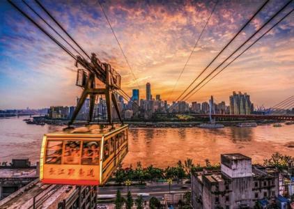 長江索道成全國第三大人氣景區
