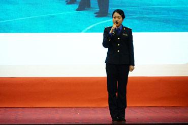 江北區城市管理執法隊選手演講《山間的蘆葦》