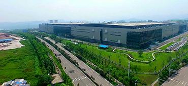 兩江新區水土高新技術産業園京東方項目