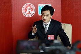 重慶市人大代表、重慶市城口縣委副書記、縣長黃宗林做客新華網