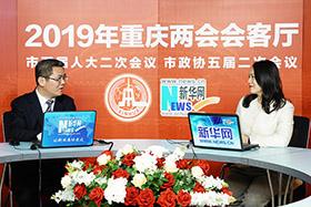 重慶市人大代表、綦江區委書記袁勤華做客新華網