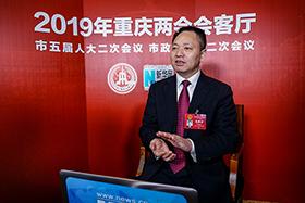 重慶市人大代表、彭水縣委書記錢建超做客新華網