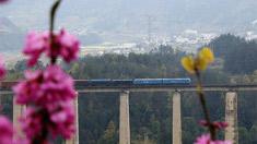 重慶大山深處交通美景入畫來