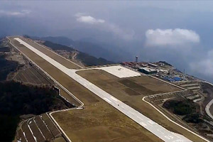 """""""雲端上的航母""""重慶巫山機場開始飛行校驗"""