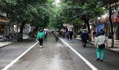 綦江城區盤踞30多年的馬路市場消失了