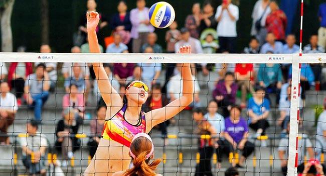 2019年全國沙灘排球巡回賽(重慶雲陽站)開戰