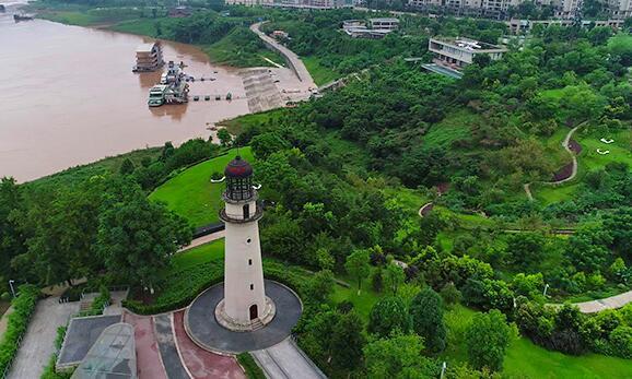 """重慶:水活城美的""""親水之城"""""""