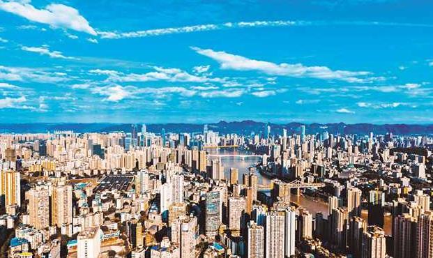 城市面貌日新月異 美麗家園宜居宜業宜遊