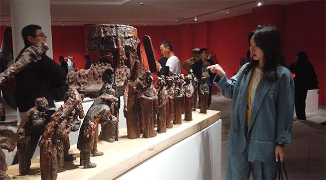 第十三屆全國美展開展 小編帶你打卡雕塑展區