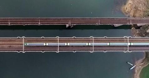 中國第一條無砟鐵路在哪裏?