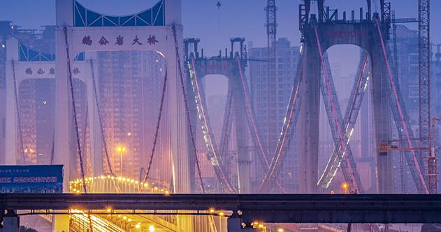 在重慶,橋的N次方什麼樣?