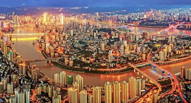 此景惟應天上有 人間只屬重慶城