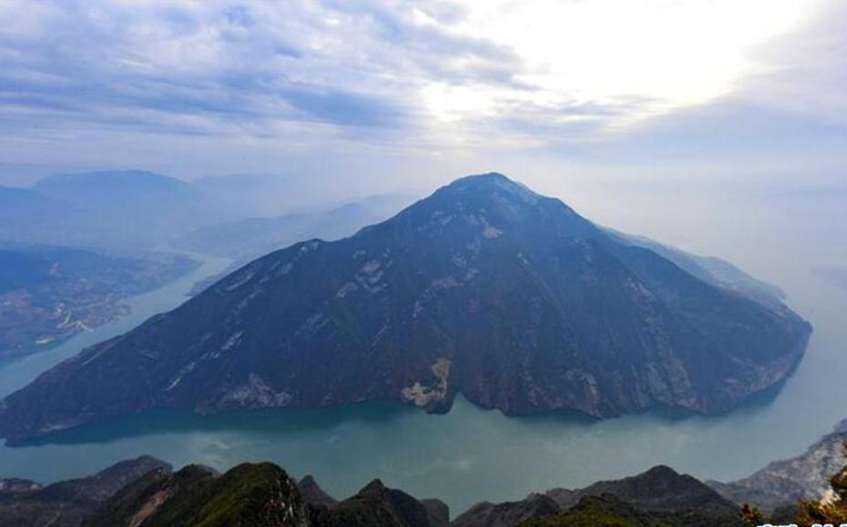 航拍長江三峽