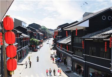 東溪抗戰文化街