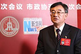 重慶市人大代表、中共重慶市石柱縣委書記蹇澤西做客新華網
