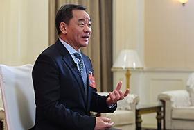 楊樹海接受新華網專訪