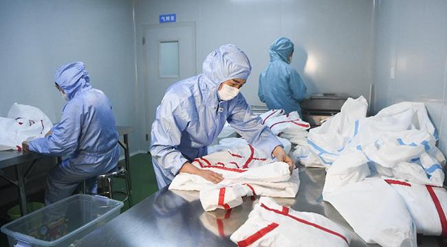 重慶豐都:防疫物資生産忙